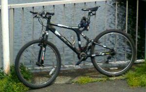 自転車の写真はこれしかなかった・・・