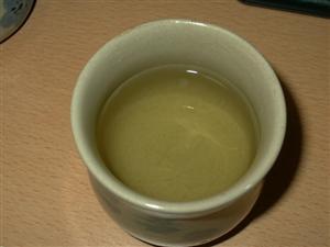 まるで緑茶のようだ!