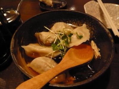 和の中 スープ餃子