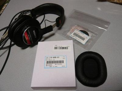 MDR-CD900STとイアーパッド