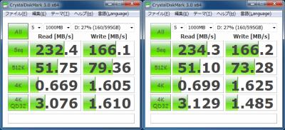 MK3265GSX x3 RAID5 CDM 1000MB