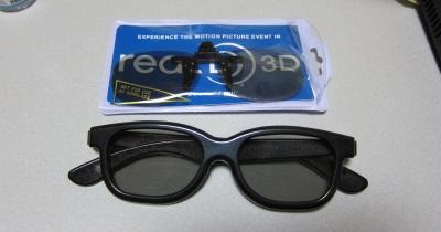 3Dメガネとクリップ式