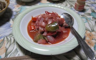 鶏肉のイチゴ煮