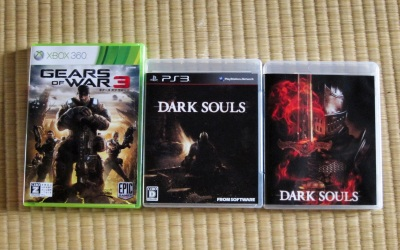 Dark SoulsとGears of War3