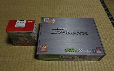 A75M-ITXとA6-3650