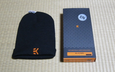EK-FC7970とニット帽