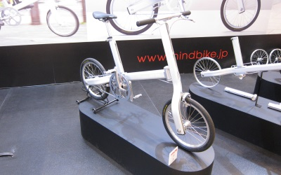 未来的な自転車