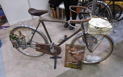 ピザ配達自転車
