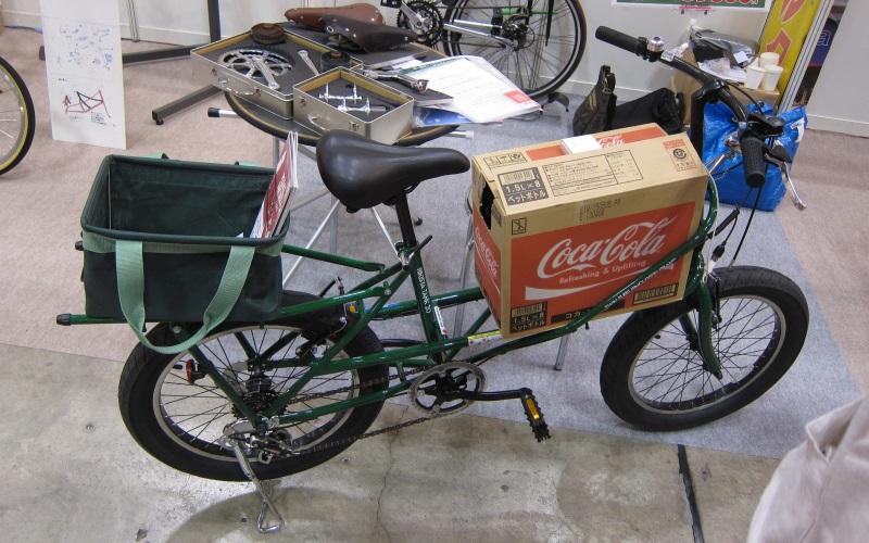 ... 運べる積載自転車だそうです