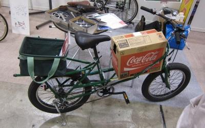 積載自転車
