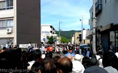迫力のパレード