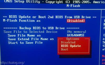 BIOS Updates