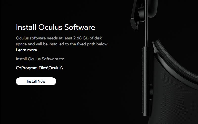 Oculus Homeの保存先