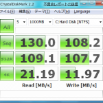 IDEとAHCI比較(Win7)