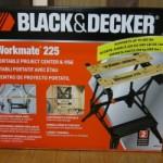 Black&Decker 作業台を買ってみた