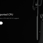 SSE 4.2未対応CPU端末にOculus Homeを入れてみた