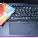 Thinkpad A285のSSDを交換