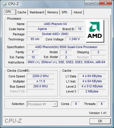 CPU-Z結果