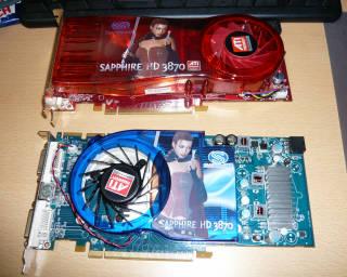 Radeon HD3870 2個