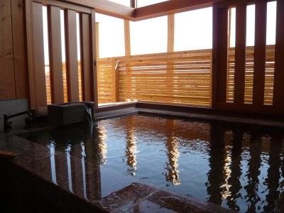 露天風呂のような部屋風呂