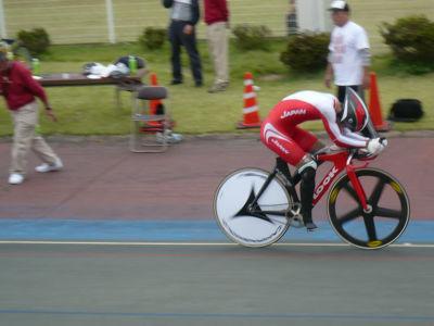 1:15とオリンピックより速いタイム