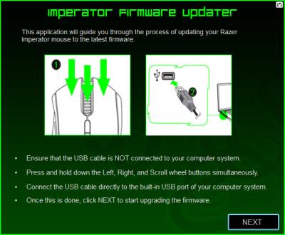 Razer Imperator Firmware v1.04