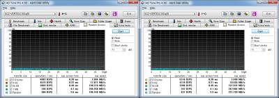 Vertex2 v1.1& v1.25 HD Tune ランダムリード