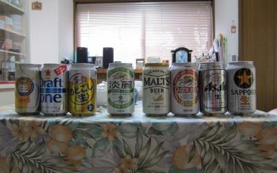 8種類のビール