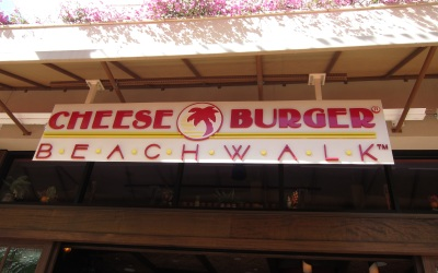 Cheese Burger Beachwalk