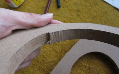 曲線用の切断麺