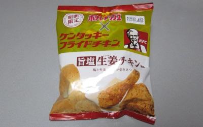 ポテトチップス旨塩生姜チキン味