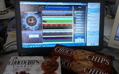 チョコチップクッキーを買っちゃった
