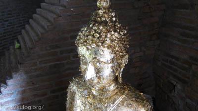 仏像に貼る