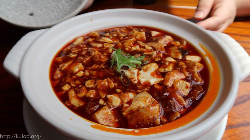 薬膳マーボー豆腐