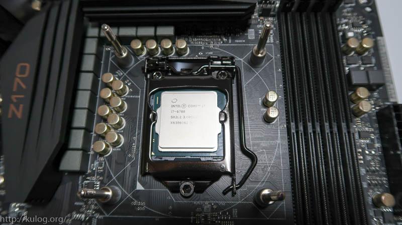 CPUを拭いて