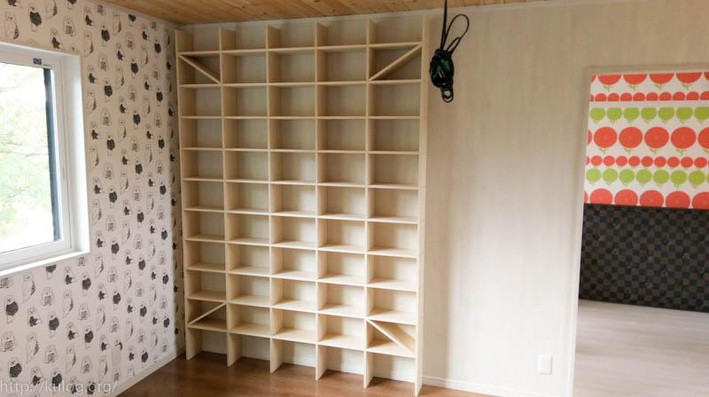 天井まで本棚