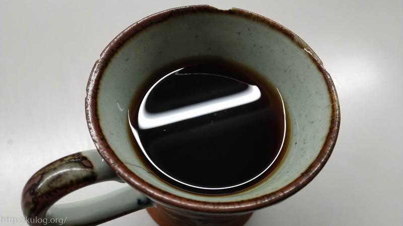 コーヒー完成!