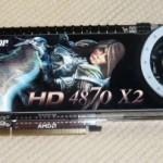 RadeonHD4870X2を買った