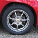 タイヤをLM704に交換してみた