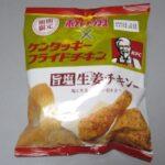 ポテトチップス 旨塩生姜チキン味を食ってみた