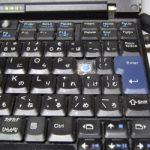 Thinkpad X61キーが壊れた