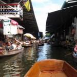 タイへ行ってきた5 水上マーケット
