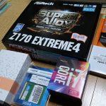 CPUをCore i7-6700にした