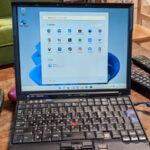 ThinkPad X61へWindows 11を入れてトラックポイントを使えるようにした